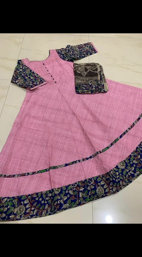 "#kurti #dresses #readymadesuit #longfrocks #longfrocklove #longfrocksdesigns #longfrocksuits👗👗👗  Mangalgiri Pure Cotton Long Frock (Ankle Length) with Kalamkari 3/4th hands and matching Kalamkari Cotton Dupatta Length-50""  Sizes-38,40,42,44  Rs.1200 with shipping No cash on delivery No return and replacement Intrested people can call or wats app to 8367373114 My youtube channel related to studies in telugu https://www.youtube.com/channel/UC1HIYw-EXzbOSN9BI80bJuA My channel related to shopping in youtube https://www.youtube.com/channel/UCWn9eoJEahEZMIrcXaWhNrw  My jwellery collection page https://www.facebook.com/My-jwellery-collection-786600328402889/  My saree collection page https://www.facebook.com/Uppada-and-all-type-of-pattu-collection-1009668725889301  Work from home reselling app link My referal code  Meesho App referal code and my link https://meesho.com/invite/SWATHIA915  Planning to buy a mobile  http://ckaro.in/arbCItmIn http://ckaro.in/ah5v5GJSe"