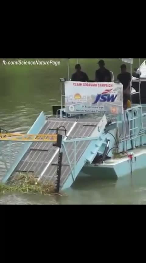Israel has gifted this to India to clean Ganga. What a beautiful gesture ! #thanks  to #pm-modi  #governmentofindia 's #roposoclean #roposo-india #roposoclean #roposocreativity #roposotv #roposogoal