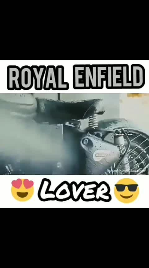 #ROYAL ENFIELD LOVER
