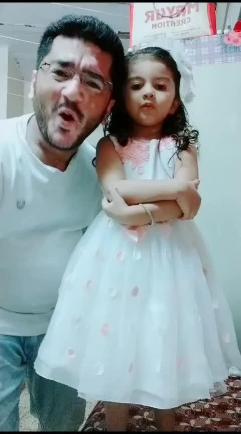 My Cutiepie #aarohi #papakipari #princess #expressionqueen #cutiepie #gujju #gujjurocks #gujjukisena #gujjukigang #rajkot #rajkotian