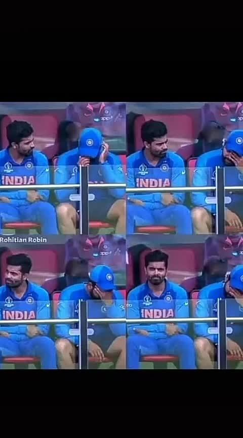 Sad moment.#icc_worldcup_2019 #rohitsharma45 #ro-hitman-sharma