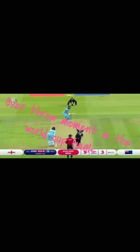 over throw moment in the world cup finals ENGLAND vs new Zealand match 2019  #ropososports #ropososports
