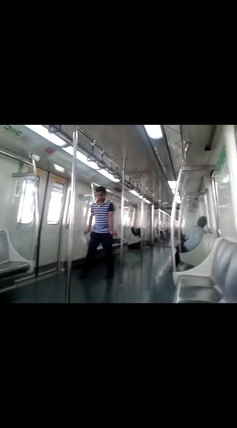 #Dance #collage back to 2013 #collegedays 's #DelhiMetro #lovefordance #ItsJustForFun edited with #newsong