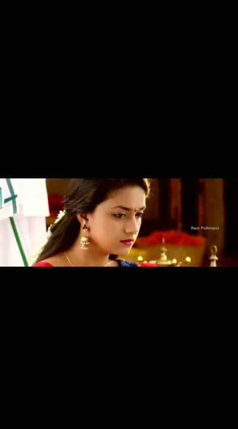#ram #keerthysuresh #nenusailaja #emotionalsong #videoclip #whatsapp-status