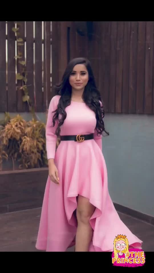 Barbie feels in Pink Gown 🎀🎀 #theprincess