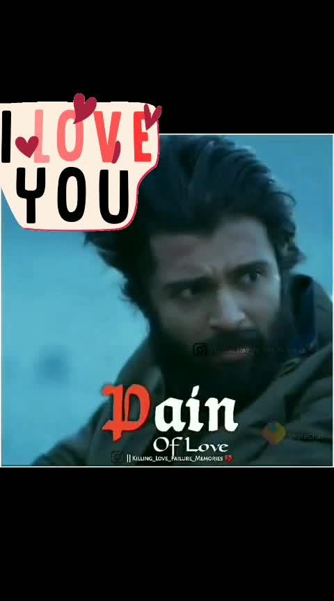 #Pain of love