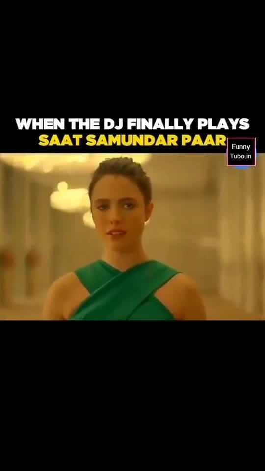 7 Samundar Tap kr aagyi yeh to 😆😆😆 #funnydance #7samandar #funny #roposo_funny