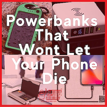 Probably the only bank you have sufficient balance in 🙃. Here's an appreciation for the super-handy Powerbank!    #superhandy #powerbank #quirky #solar #creditcard #innovative