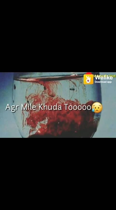 ##agar#mile# khuda##to