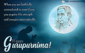 Happy Guru Purnima!  Our worldly life is made up of relationships, the Guru-disciple relationship being one of them. It is a sacred relationship based on the foundation of unconditional love, oneness and total surrender. One attains the energies of the person one is surrendered to. So, when you are faithfully surrendered to your Guru, you acquire His strength and energies automatically.  Let's learn more about the bonding between a Guru and disciple by visiting the link below:   https://blog.dadabhagwan.org/latestupdates/guru-the-beacon-of-light-2019/   #guru #love #like #pendidikan #sumberargo #sekolah #instagram #waheguru #yoga #follow #spiritual #t #sikh #india #education #spirituality #pendidik #meditation #indonesia #sikhi #sikhism #pgri #kemdikbud #bollywood #inspiration #mahasiswa #school #gurukece #waheguruji #bhfyp