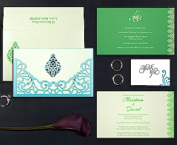 Laser cut wedding invitations allow designers to take your wedding invitation suite to the next level with a never-before-possible level of detail. Explore the designs today and order your samples now. https://www.123weddingcards.com/laser-cut-wedding-invitations #lasercut #invitations #weddinginvites #invitationsuite #invitationprinting #invitationdesigns #sampleinvitations #lasercutinvites #themecards #onlineinvitations  #invitationsuite #123WeddingCards