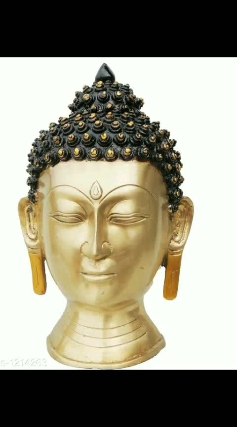 Designer Brass Budha Decors*
