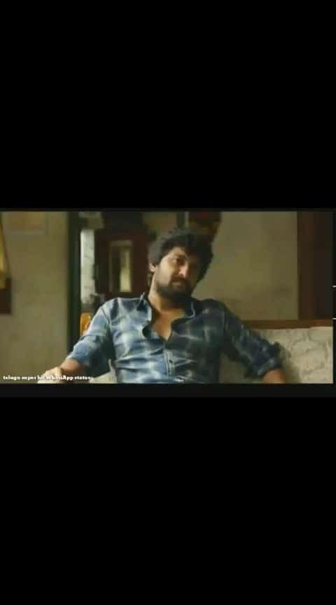 #nani-jersy movie 😎😎😎😎 #telugumovies #telugu-roposo #whatsaapstatus