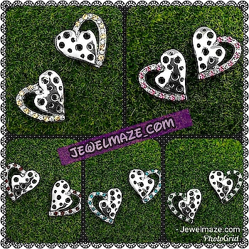 Trendy Heart Shaped Stone Stud !!! Now just @ Rs. 79/- Shop Now:- https://bit.ly/32ue8XW Or Call us on 9867662341 for more details ✅ Cash On Delivery Available  #Earrings #Stud #Jewelry#Fashionjewelry #studs&tops #JewelMaze