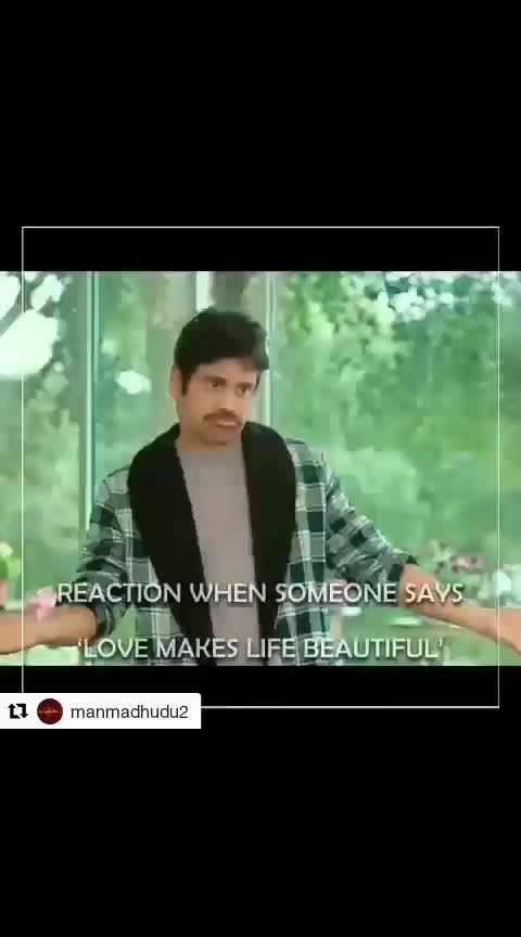 "#Repost @manmadhudu2 (@get_repost) ・・・ Have you guys ever felt of saying ""Bongem Kadu!"" in any situation?  Let us know in comments section😉😄 #Manmadhudu2 #Manmadhudu2OnAugust9th  #AkkineniNagarjuna | @rakulpreet | @vennelakish | @rahulr_23 | @anandiartsoffi | @viacom18studios | #mynnasukumar | @chotakprasad | @iaksharagowda | @anchor_jhansi"