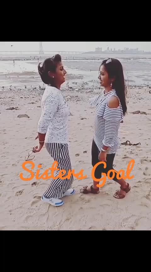 #sister-bonding #sistergoals #loveness