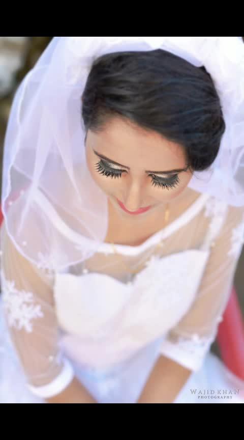 Christian Bride #wajidkhanphotography  #roposo-photos#photographysouls  #photographyislife#wedding-dress