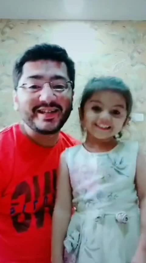 Ohhh Mahi...... #aarohi #papakipari #princess #expressionqueen #cutiepie #gujju #gujjukigang #rajkot #rajkotian