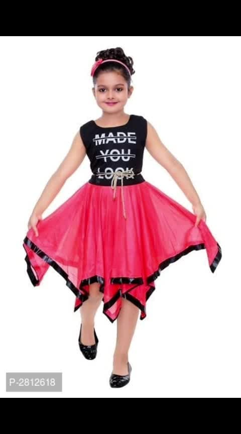 *Check it Out:* https://myshopprime.com/collections/46110607 Girls Midi/Knee Length Cotton Dress For Girls  *Fabric*: Variable  *Style*: Self Pattern  *Design Type*: Variable  *Sizes*: 1 - 2 Years (Chest 19.0 inches*: Length 20.0 inches)*: 2 - 3 Years (Chest 20.0 inches*: Length 22.0 inches)*: 3 - 4 Years (Chest 22.0 inches*: Length 24.0 inches)*: 4 - 5 Years (Chest 24.0 inches*: Length 26.0 inches)*: 5 - 6 Years (Chest 26.0 inches*: Length 28.0 inches)*: 6 - 7 Years (Chest 28.0 inches*: Length 30.0 inches)  *Delivery*: Within 6-8 business days  *Returns*:  Within 7 days of delivery. No questions asked    ⚡⚡ Hurry, 8 units available only