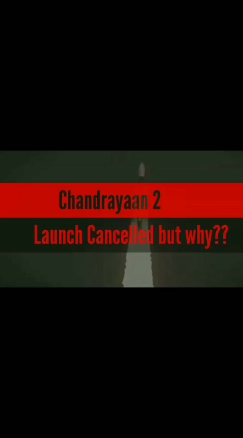 Why ISRO canceled Chandrayaan-2 launch|#chandrayaan2 #mission #highlights #Digitalavatar https://youtu.be/gIwMfWlNhJc