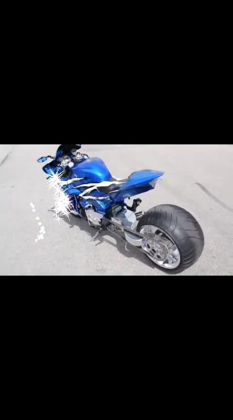 Blue beauty modified #bikestagram