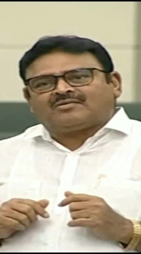 Minister #ambatirambabu Counter to #chandrababu