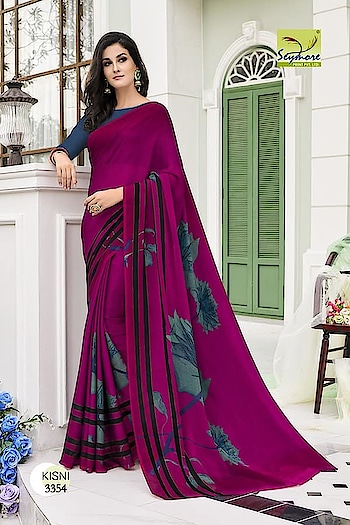 MAHIKAA COLLECTIONS LAUNCHES online selling of WOMEN FABRICS. please click on picture or our online link below or BUY DIRECTLY FROM US USING PAYTM / BANK TRANSFER CONNECT WITH US AT info@mahikaa.in or whatsapp : 7984456745   GEORGETTE PRINTED SAREE PRICE : 1175/- ONLY READY STOCK-SAME DAY DISPATCH *MULTIPLES AVAILABLE BOOK NOW*  #saree #sareelove #sarees #fashion #sareeblouse #indianwear #onlineshopping #love #sari #indianfashion #indianwedding #handloom #sareefashion #ethnicwear #indian #sareeindia #traditional #india #lehenga #silksaree #sareesofinstagram #wedding #styles #silk #indiansaree #style #silksarees #kanchipuram #designersaree