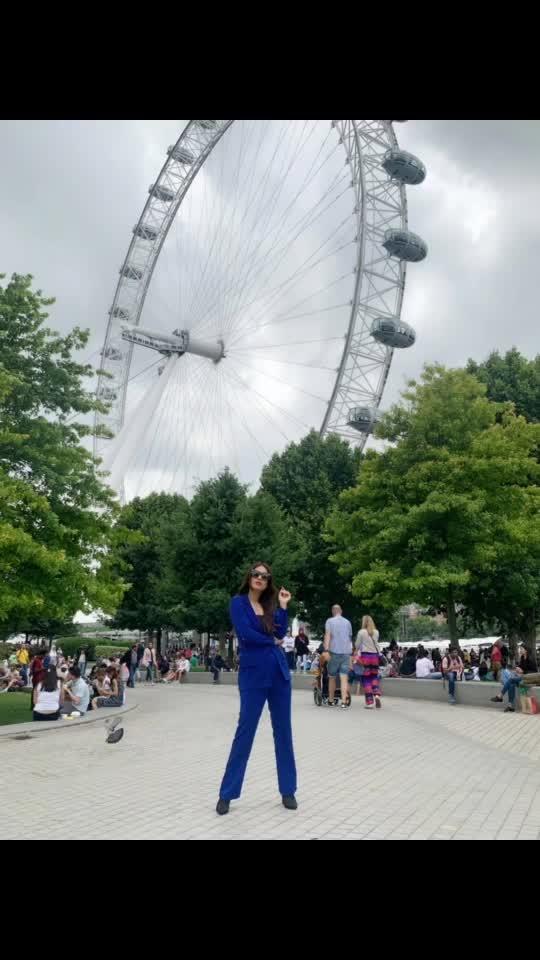 "London Eye ♥️♥️🇬🇧🇬🇧 : Outfit - @paparazzicloset  Use My code "" NEHA15 ""to get 15% off 🤩 : #london #londoneye  #londontourism #londontravelwithnehamalik #bluesuit #paparazzicloset #travelwithme #londonride #pollywood #pollywoodmovie #musafir #pollywoodartists #instantpollywood #instantbollywood #nehamalik #model #actor #blogger #instagram #instalike"