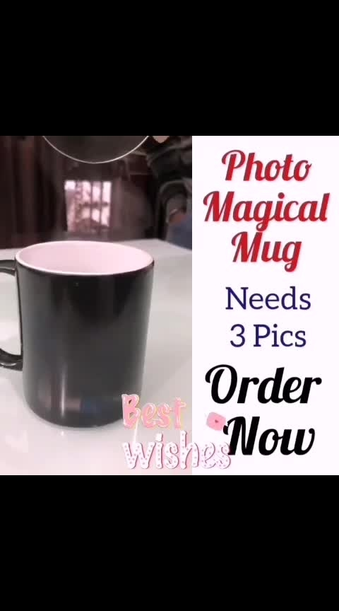 Photo Magic Coffee Mug😍  Need 3 Pics😍  Gift💖 😍 👉💌Dm for Order 👉For order send Name 👉Address & pin cod 👉No COD🚷🤗 ❣️❣️❣️❣️ Direct Message For Order🎁 @photo_art_store @gifts_shopping_time  @gift_online_store  @gift_personalized_magazine Special🎁🎁🎁🎁🎁😘 😍SPECIAL PERSON😍 Keep Ordering😍😍 Birthday Couple Friendship Family Anniversary 😍😍 😍 DM for Order  #surprises#specialgift#happybirthday#birthdaygift #birthdaygifts#customisedgifts#uniquegifts #giftsforher#giftsforhim#giftsforcouple #anniversarygifts#anniversarygift #personalisedcards#greetingcards#handmadegift #handmadegifts#handmadecard #womanentrepreur#femaleentrepreneur#giftideas #photo_art_store #gifts_shopping_time #gift_online_store