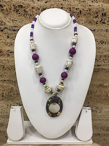 Afghani Tibetan Necklace Multi-Color Pendant Purple Stone White Beads Necklace❤ Rs 230/- Item Code:(🔎1405N60) Purchase From Our Website - https://digitaldressroom.com/collections/necklace/Necklace #necklace #necklaces #necklaceset #goldplatednecklace #stonenecklace #glassnecklace #beadsnecklace #antiquenecklace #antiquejewellery #afghaninecklace #afghanijewellery #afghanitibetannecklace #afghanitibetanJewellery #antiquetibetannecklace #colorfulnecklace #jewellery #imitationjewellery #traditionjewellery #fashion #fashionjewellery #weaternjewellery #indianjewellery #womennecklacesset #jewellerysset #necklaceforwomen #tibetanjewelryforwomen #necklaceforgirls #jewelleryforwomen #Indianfashion #traditionalfashion #westrenfashion