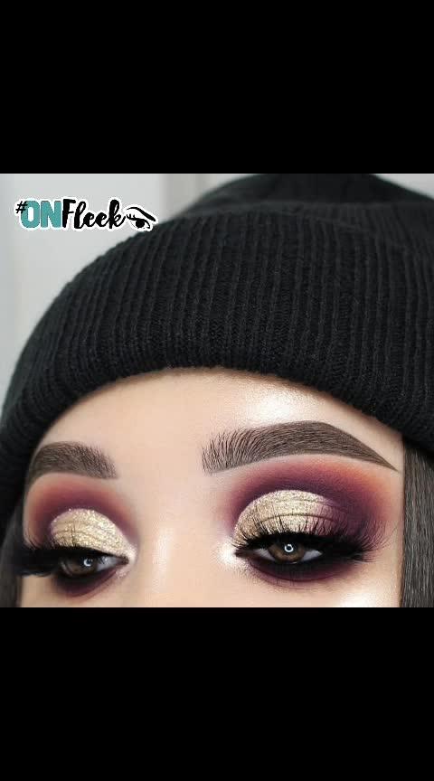#eyemakeup #eyemakeuplook #eyemakeuptips #fashionquotient #fashionquotientchannel #lookgoodfeelgood #lookgoodfeelgoodchannel #newpost #newpostalert #followmeonroposo