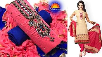 Dress Materials | Latest cotton dress materials | Fashion Designing