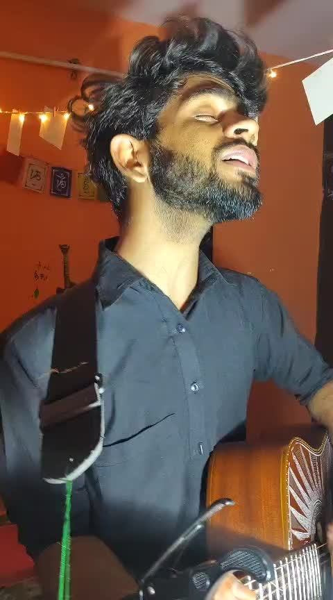 Mann bhareya 💔  #risingstar #punjabisong #punjabisinger #mannbharrya #bpraak #guitarist #myvoice #artist #roponess #singingstar