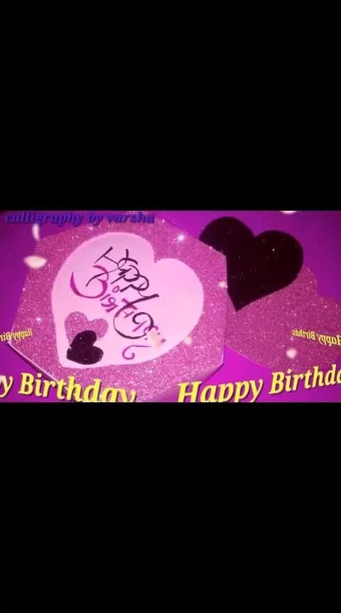 #birthdaygifts #happieness #reposo-love #instagram #roposo-rising-star-rapsong-roposo #lovebeat #music_masti #musicallys #lov-ropose #tiktok_india  #tiktok-roposo #ropo-lo #beautyatitsbest #beautifulsong #roposo-beauty #beutiful #unique creation #uniquedesigns #uniquegifts #best-friends #calligraphylove #calligraphyart #calligrapher #calligraphy #new-style #new-song