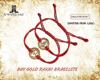 Gold Rakhis for your beloved brother as the best Raksha Bandhan gift. Visit - http://bit.ly/2sRx6F9 #Gold Rakhis #Om Rakhis #Diamond Bracelets #Brother Rakhis #Bracelets #Jewelslane #Aumkaara #Shop jewelry #Online Jewellery #Hand made jewelry #Raksha Bandhan
