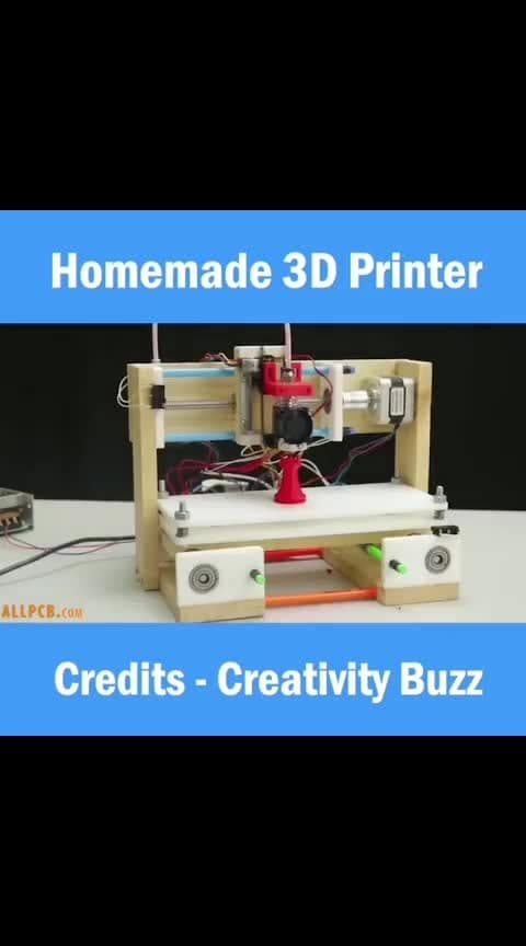home made 3d printer #homemade #inventions #work-mode