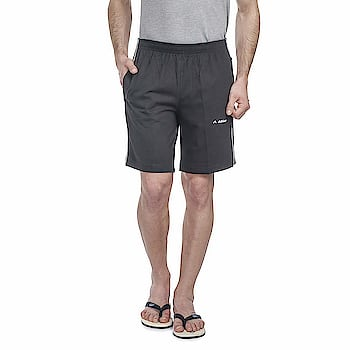 ATHLET Mens Solid Printed Cotton Hosiery Shorts/Bermuda for Gym,Running,Night Wear, Casual Wear Sports Shorts for Men's (107)  Fit Type :- Regular Fit (Plain Boxer Shorts With Convenient Side Pockets) Fabric :- 100% High Quality Hosiery Cotton 2 Side Pockets In The Shorts || Waistband with Elastic Comfortable || Long Lasting || Light Weight || Good Fit II Both Side Zip Pockets Care Instructions :- WASH INSIDE-OUT IN COLD WATER WITH MILD DETERGENT AND DRY IN SHADE ONLY https://amzn.to/2JEc9Jd