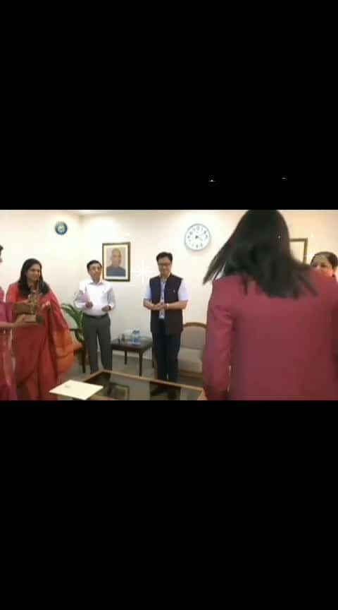 #Smriti Mandhana....❤❤❤❤❤#Arjuna Awardee