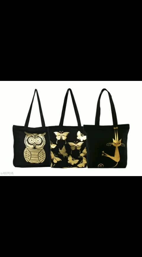 *Chic Latest Printed Canvas Slingbags Vol 6*
