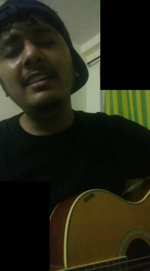 #coversong #roposo #risingstar #roposotalent #singer #mujhekaisepatanachala #papon  my favourite song.. #2019