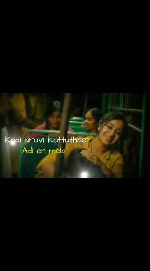 #kodi_aruvi_kottuthe_adi_yenmela  #tamillovesongs 💕💞💞