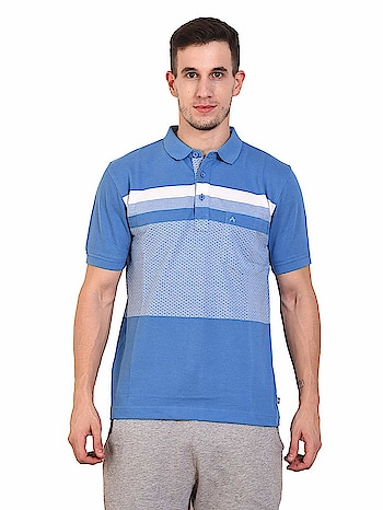ATHLET Mens Striped Cotton Sinker Polo T-Shirt (16-17)  Fit Type :- Regular Fit || Fabric :- 100% High Quality Cotton Comfortable || Long Lasting || Sweat Absorbent || Smart Fit II Stylish Collection Neck Type :- Collar Neck T-shirt || Sleeve Type :- Short Sleeve || Occasion :- Casual Wear and Style Wear || Buttons :- Two || Pocket :- 1 Pocket || Collar :- Elastic Rib Check The Size Chart To Get Perfect Fit For You Care Instructions :- WASH INSIDE-OUT IN COLD WATER WITH MILD DETERGENT AND DRY IN SHADE ONLY  https://amzn.to/2Z0p5ht