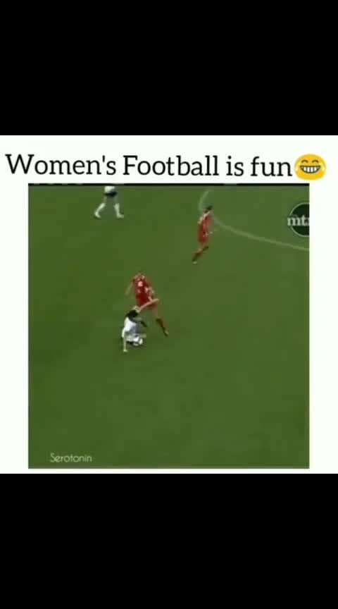 #womans  #football fight