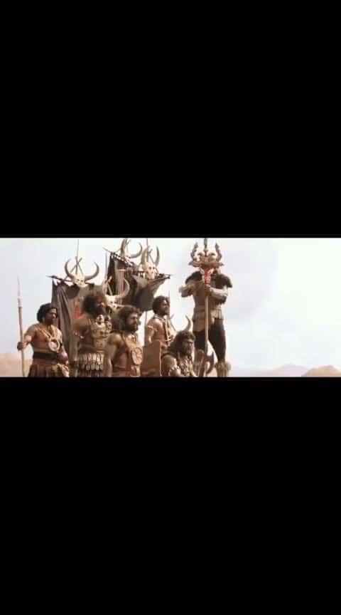 baahubali spl scene...!