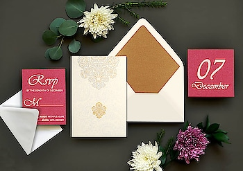 Shop for the wide range of exotic invitation cards collection from #123WeddingCards. We have a great collection for all the wedding stationery like save the dates, RSVP, Menu cards, Wedding Invites and many more. We offer Specially Crafted Invites with high quality Printing. Buy Sample Now! https://www.123weddingcards.com/  #weddingcards #weddinginvites #invitationcards #marriagecards #Indianinvitations #Savethedatecards #RSVP #thankyoucards #newdesigns