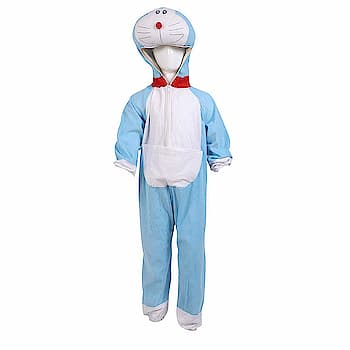 Chandu Ki Dukan DOREMON Fancy Dress Costume/Cartoon Fancy Dress  Single piece jumpsuit with hood attached The color of the product may vary because of the photographic lighting. Soft and comfortable wear for children Washcare: hand wash, machine wash and dry clean  https://amzn.to/2GkGA55