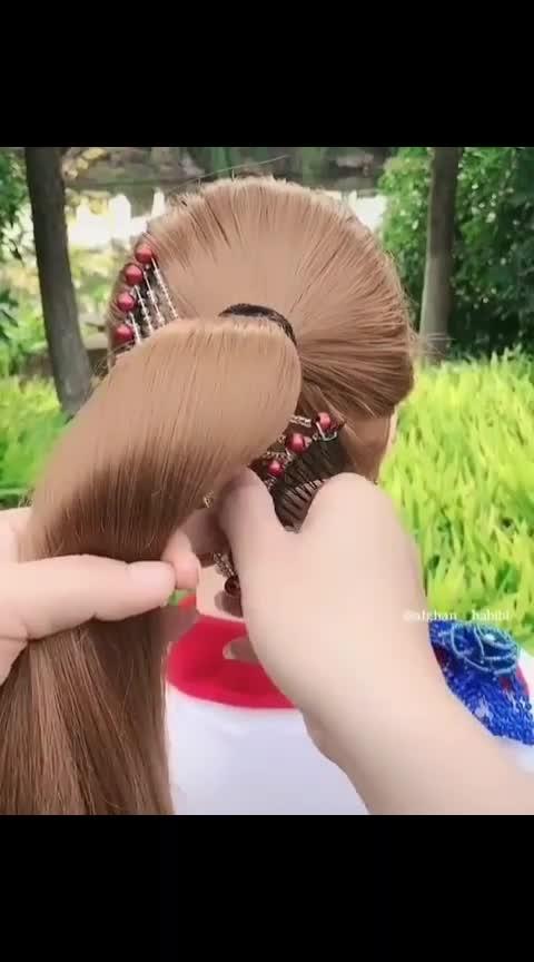 #hair-style 💖#hair-do 🤯