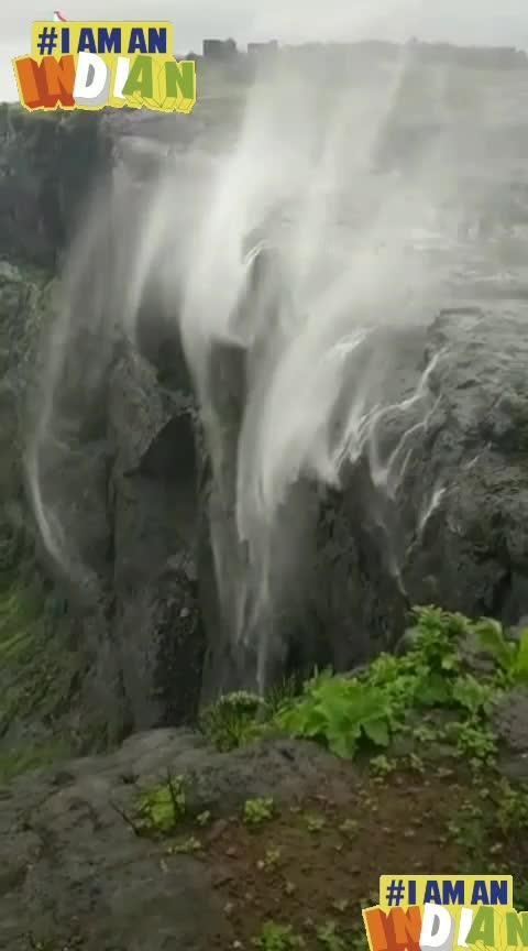 #revers waterfall