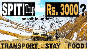 SPITI VALLEY TRIP UNDER Rs. 3000 | SPITI VALLEY TRANSPORT STAY FOOD | SPITI 2019 | Bhikhari baba  SPITI VALLEY TRIP UNDER Rs. 3000 INCLUDING TRANSPORT STAY FOOD  This video is all about TRANSPORT STAY FOOD. LOCAL TRANSPORT IN SPITI VALLEY. MOBILE SIGNAL CHEAPEST STAY IN SPITI VALLEY   Spiti valley budget trip is dream come true for every traveller . Taking a trip to spiti and maintaining a pre-defined budget has been quite an achievement for me as a traveler.  #travel #bhikharibaba #spitivalley #himachalpradesh #kaza #kibber @roposotalks #roposo #roposotravel