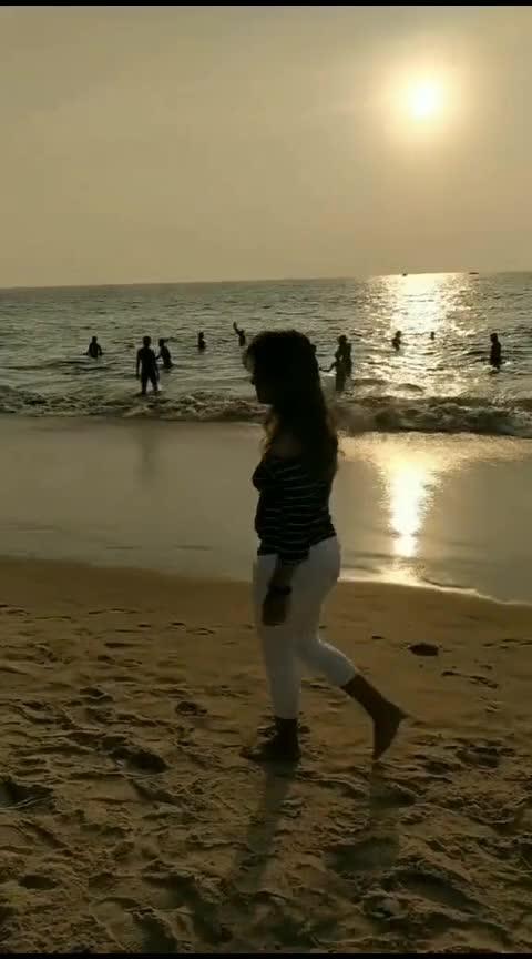 Beaches are the best☮️✌️Goa dairies ❤️